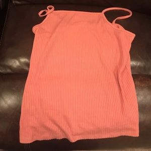 plus size ribbed tee